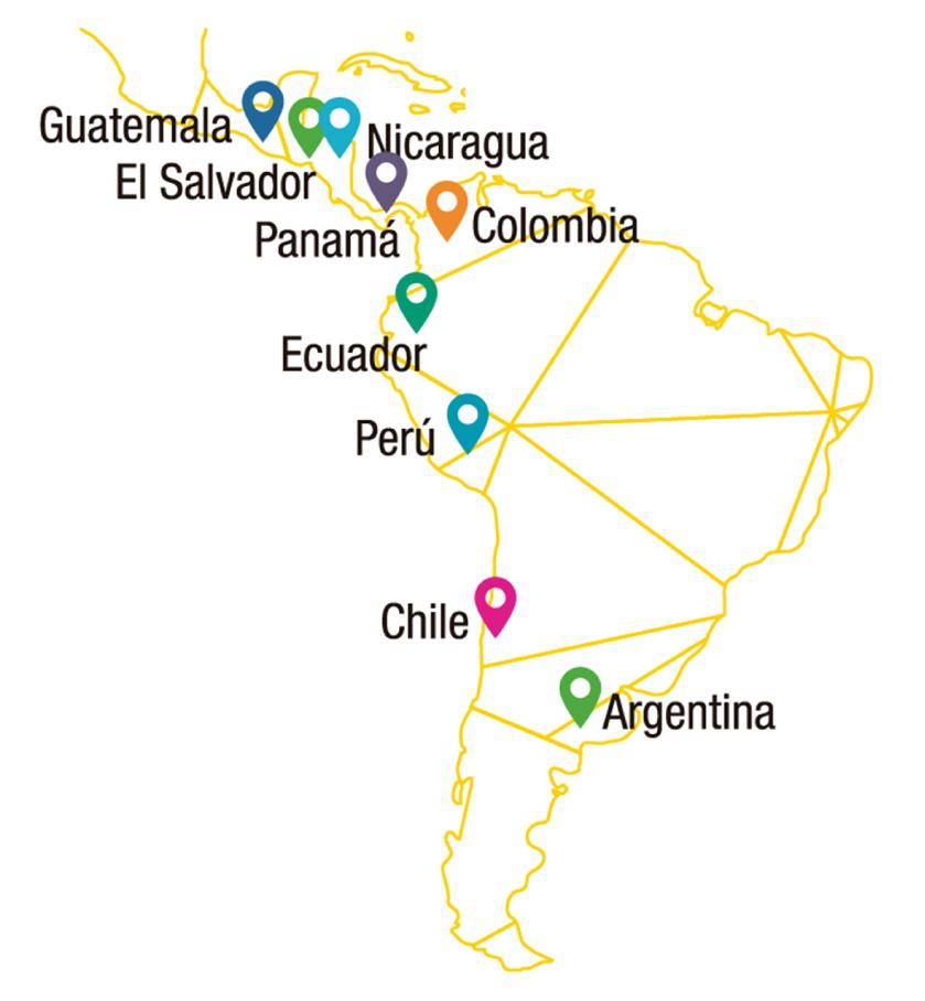 Prescencia en América Latina